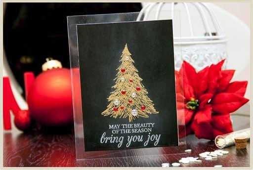 Project: Elegant Embossed Christmas Card