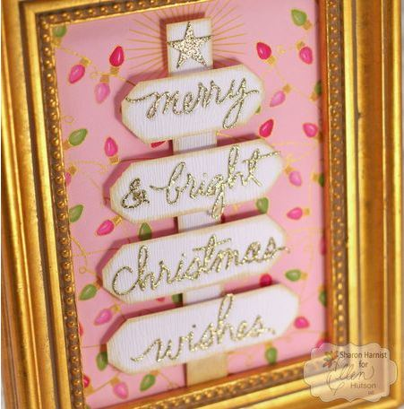 Project: Framed Rustic Christmas Tree