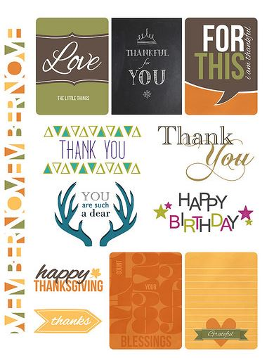 Freebie: Thankful Downloads