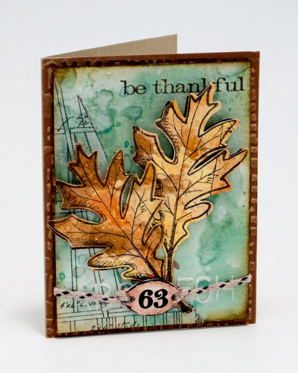 Techniques: Thankful Fall Card