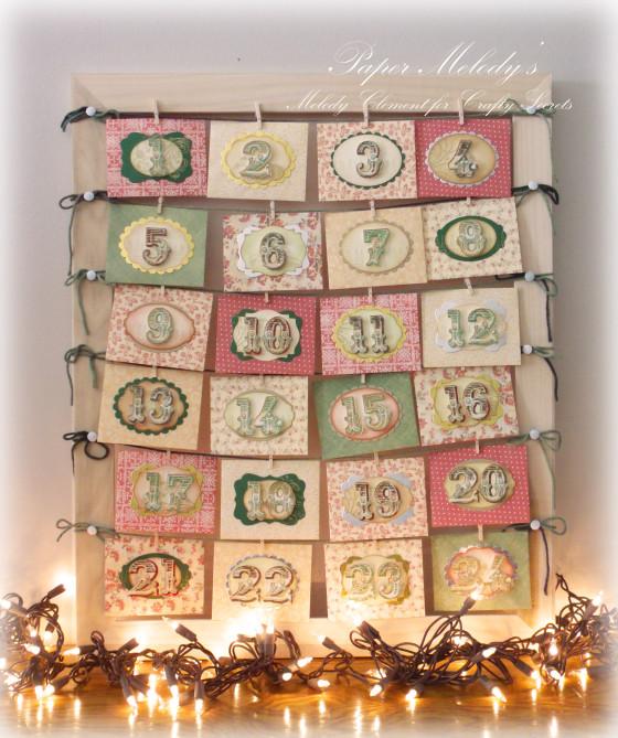 Envelope Advent Calendar Ideas : Project envelope advent calendar stamping