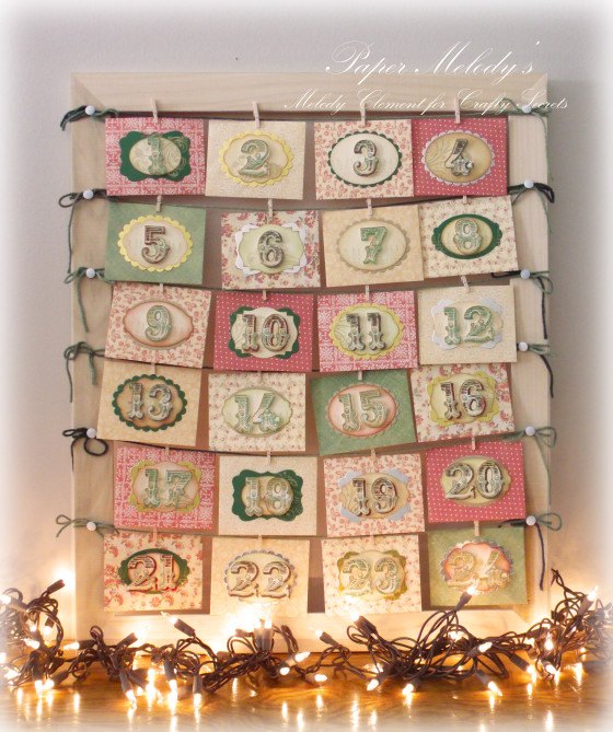 Advent Calendar Envelopes Ideas : Project envelope advent calendar stamping