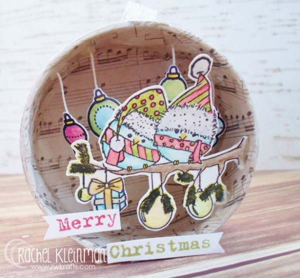 Project: Stamped Christmas Ornament