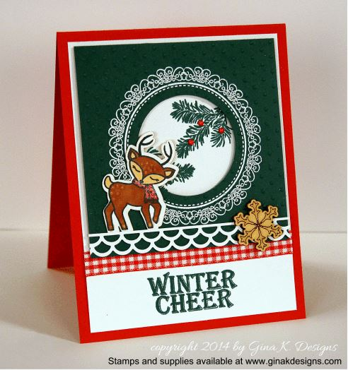 Project: Woodland Deer Holiday Card
