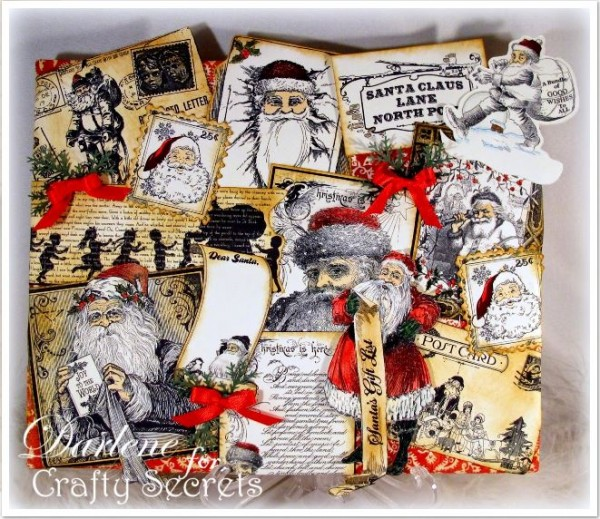 Project: Santa Collage