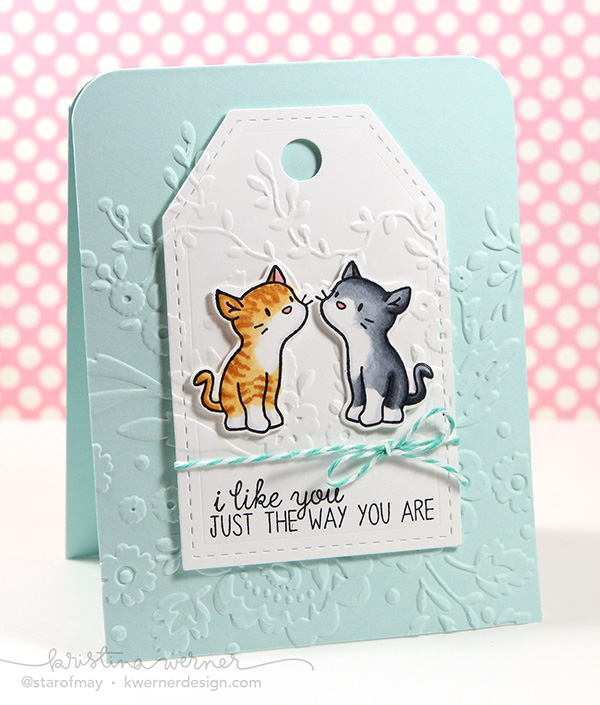 Project: Kitty Card using the MISTI Tool