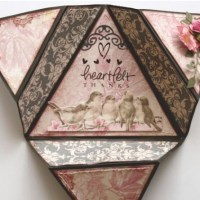 Pattern: Triangle Fold Card