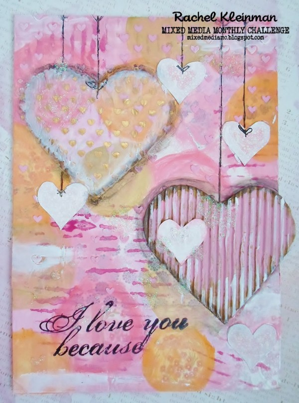 Project:  Valentine Canvas