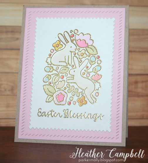 Project: Embossed Easter Card