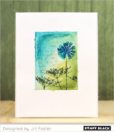Technique: Floral Watercolor Cards