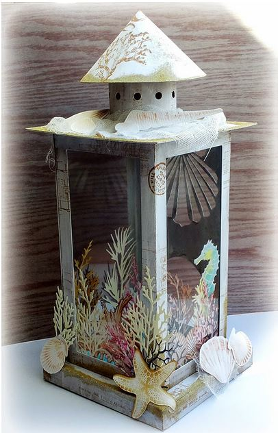 Project and Freebie: Beach Lamp