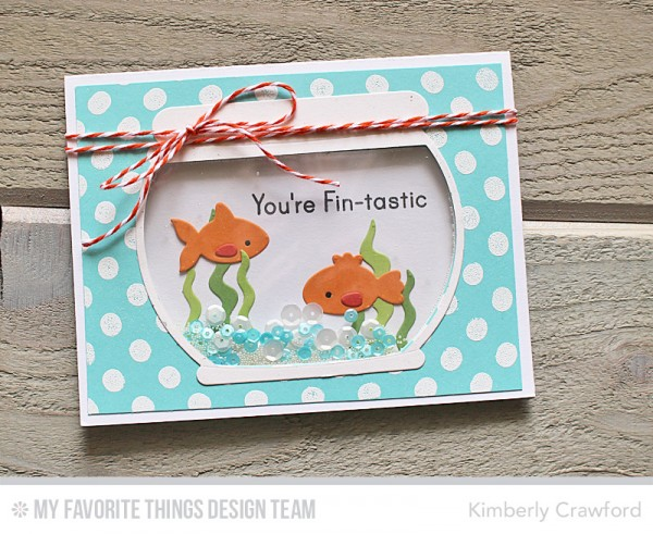Project: Fish Bowl Shaker Card