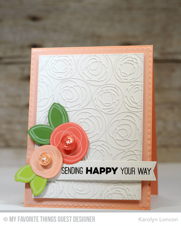 Technique: Cards Accented with Die Cuts and a Resit Technique