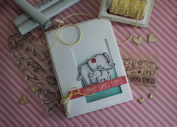 Project: Mother's Day Elephant Card