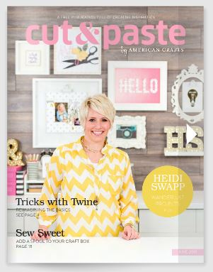 Freebie: Cut and Paste Paper Crafting Magazine