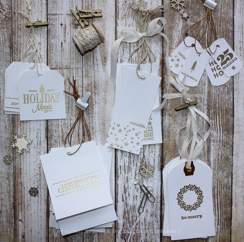 Project: Christmas in July Gift Tags
