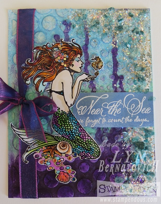 Project: Mermaid Card