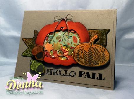 Project: Fall Pumpkin Card