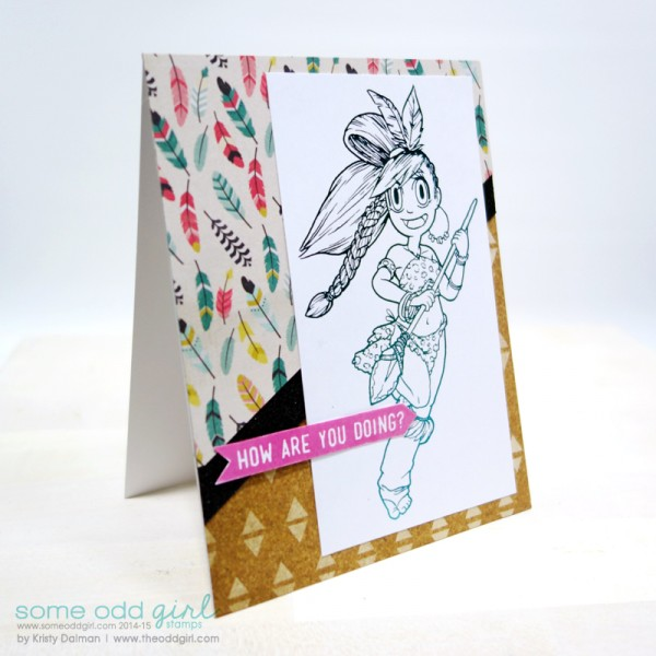 Tutorial: Foiling Digital Stamps