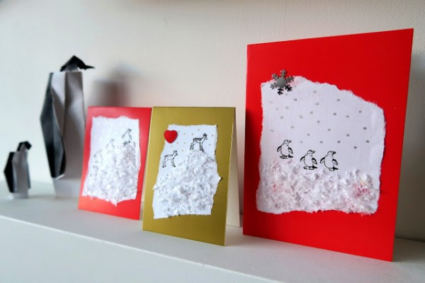 Project: Snowy Christmas Cards