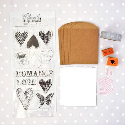 New Release: Teeny Tiny Valentine Card Kit