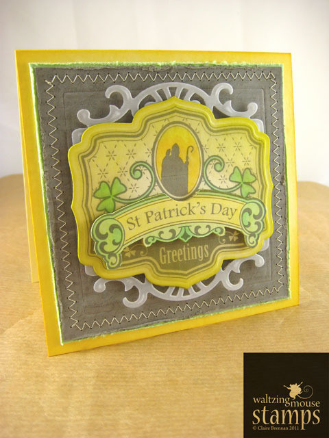 Freebie: Saint Patrick's Day Digital Stamp