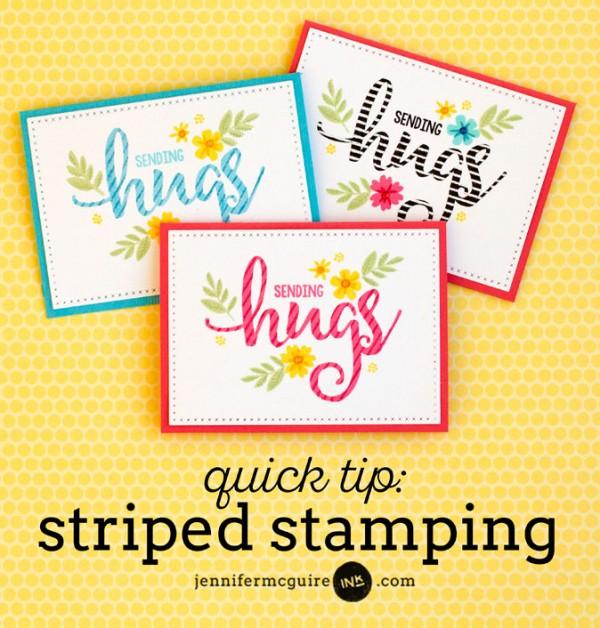 Tip: Striped Stamping