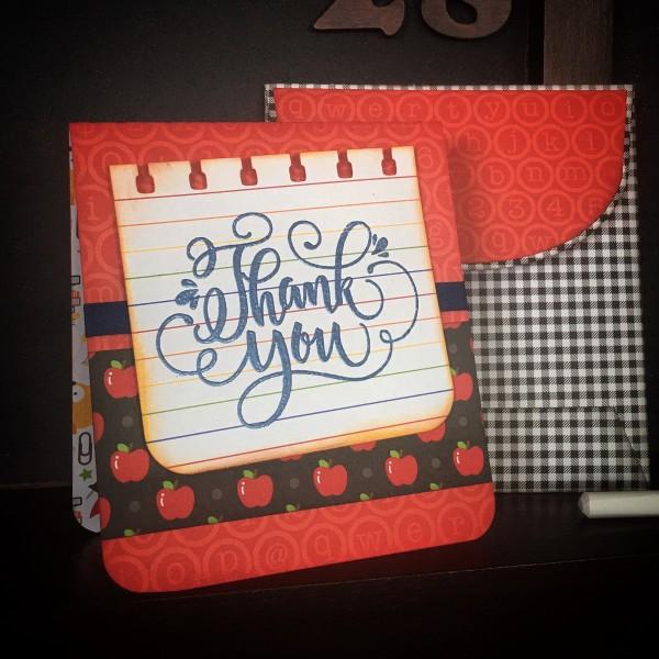Freebie: Teacher Card SVG File
