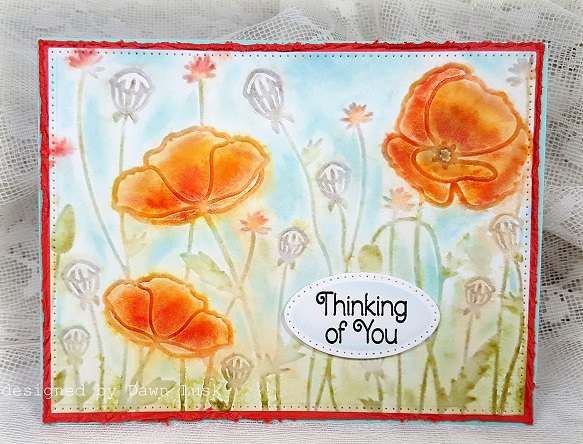 Technique: Adding Color to Your Embossing Folder Images
