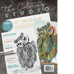 Review: The Coloring Studio Magazine Summer 2016