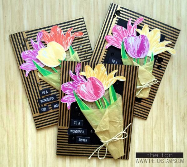 Project: Floral Bouquet Card