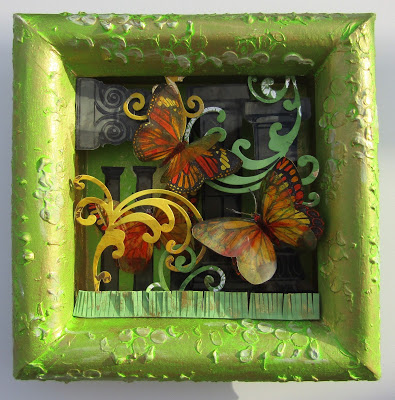 Project: 3D Butterfly Frame