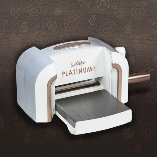 spellbinders platinum die cutting machine