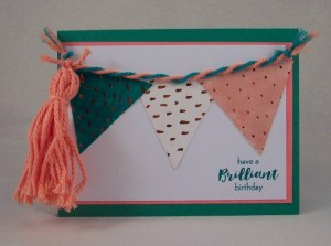 Review and Giveaway: Stampin' Up Paper Pumpkin Kit for July