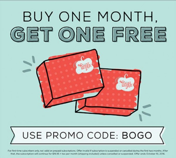 Sale: Paper Pumpkin Kit BOGO