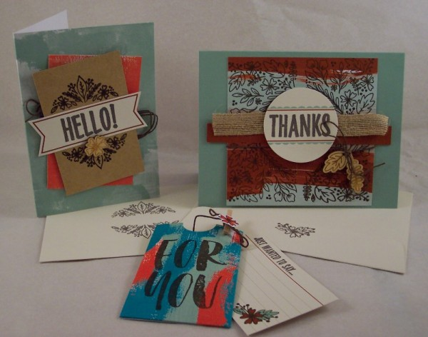 Review and Giveaway: Stampin' Up Paper Pumpkin Kit for August