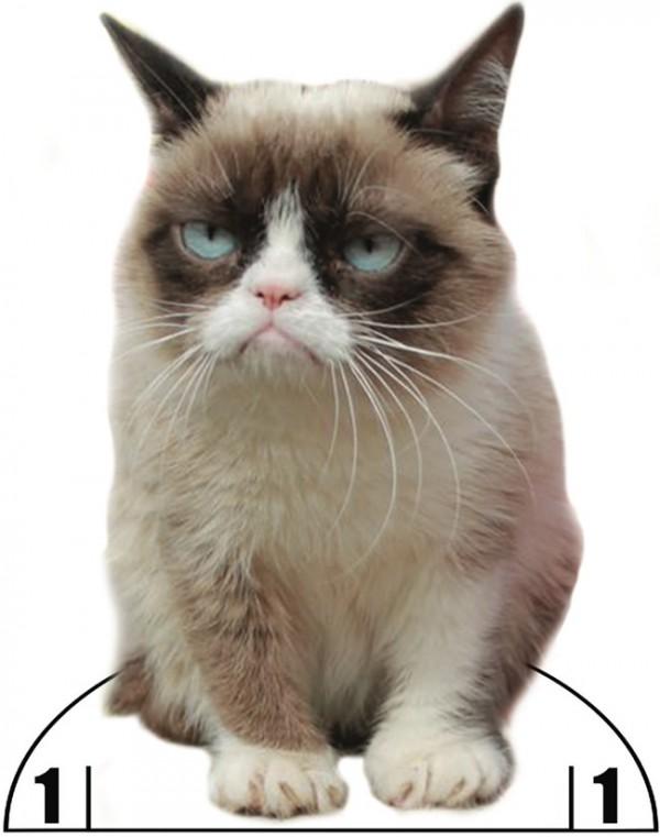 Freebie: Grumpy Cat Paper Doll