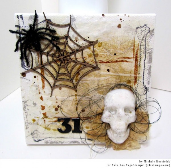 Project: Halloween Collage Art