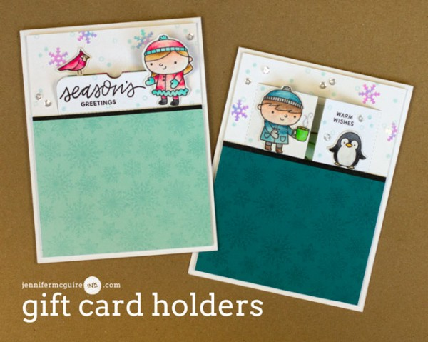 Project: Holiday Gift Card Holder Cards