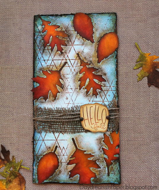 Project: Fall Leaves Collage Art