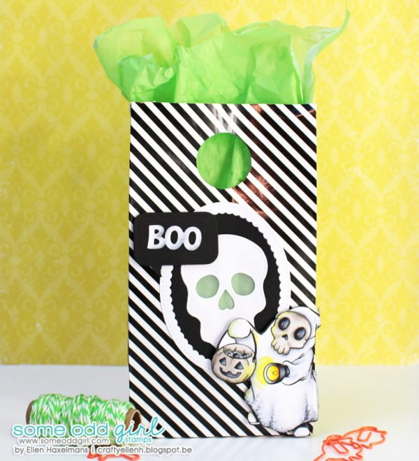 Project: Ghostly Halloween Treat Bag