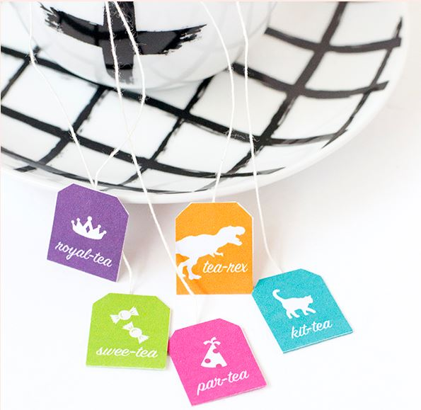 Freebie: Funny Tea Bag Tags
