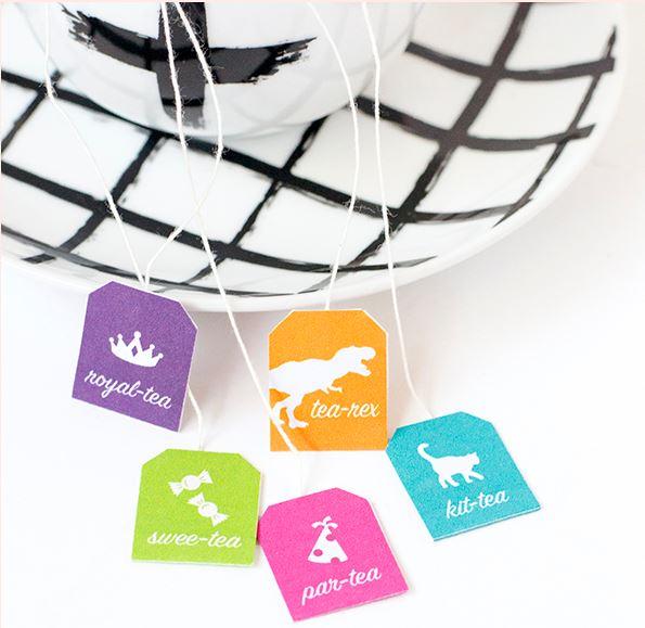 Freebie: Funny Tea Bag Tags