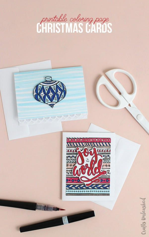 Freebie: Digital Christmas Card Stamps and Patterns