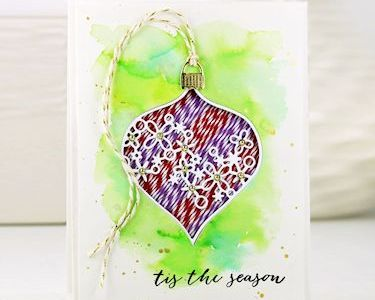 Project: Baker's Twine Inlay Holiday Card