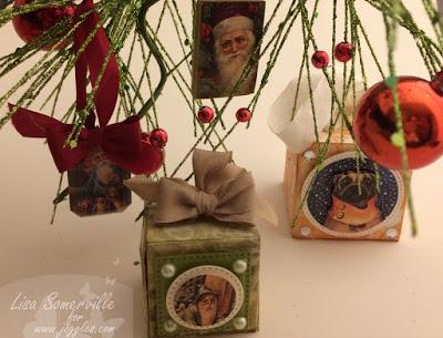 Project: Mixed Media Ornaments