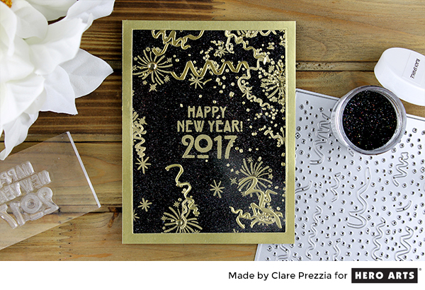 Project: New Year Shaker Card