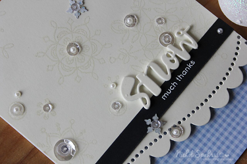 Project: Winter Thank You Cards
