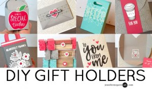Projects: 8 Different Gift Holders for Valentine's Day