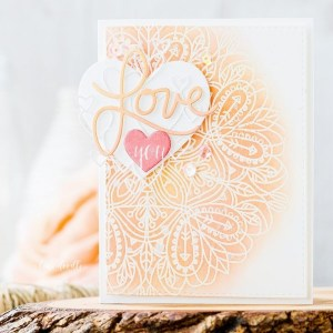 Project: Stamped and Die Cut Valentine